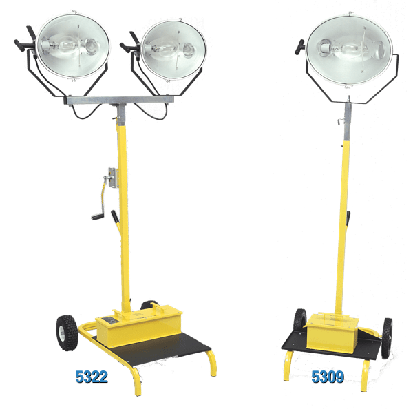 "Metal Halide ""Stadium"" Light Stands"